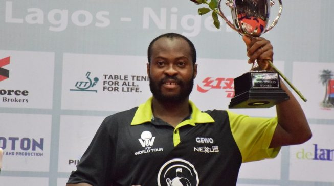 Back-to-back: Aruna Quadri wins Nigeria Table Tennis Open Championship
