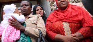 Kenyan lawmaker sent out of parliament for coming with baby