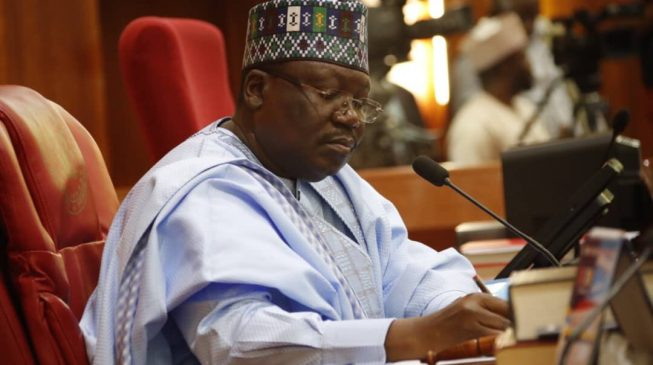 Lawan: FG borrowing to fund budgets because many agencies don't deliver