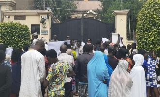 Protesters storm Amnesty office, ask group to vacate Nigeria