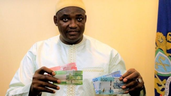 Gambia releases new banknotes without Jammeh's features