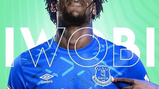 Iwobi's move to Everton finally goes through