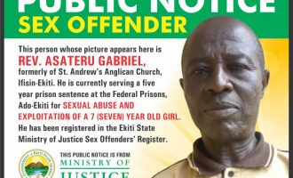 EXTRA: Ekiti begins 'naming and shaming' of rapists
