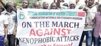 Xenophobic attacks: NANS pickets MTN, DSTV offices in Ogun