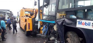 BRT operator blames 'Okada' rider for accident on Ikorodu road