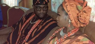 Teddy A and Bambam, ex-BBNaija housemates, hold traditional wedding