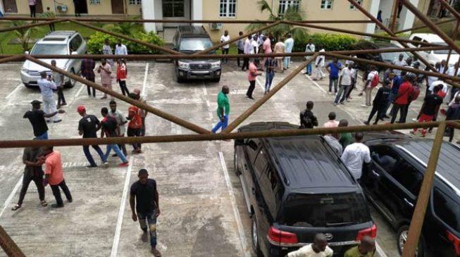 Bayelsa speaker removed as gunshots rock assembly
