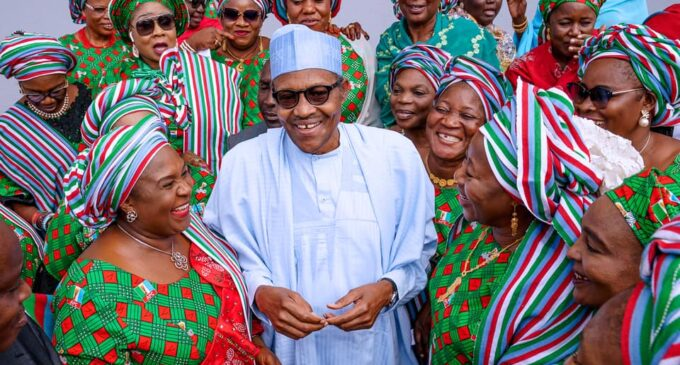Buhari: I can defend my decision to hand over the treasury to women