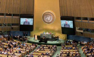 P&ID is a scam attempting to cheat Nigeria of billions of dollars, Buhari tells UN