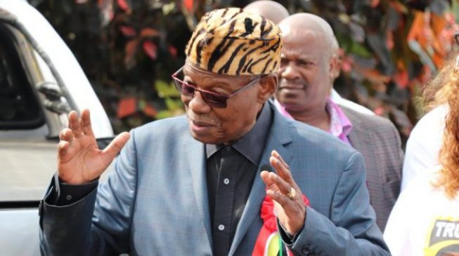 South African leader to mob: Obasanjo is one of the giants of Africa… what are we doing to his people?