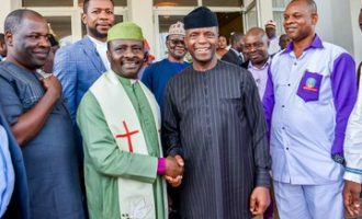 'The church will fight for him' — CAN defends Osinbajo on N90bn allegation