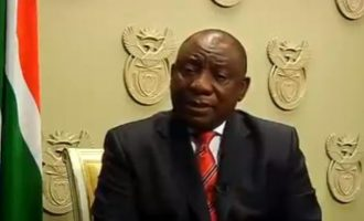 VIDEO: There's no justification for attacks on foreign nationals, says Ramaphosa