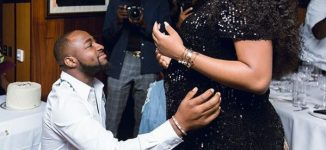 'I dey delivery room' — Chioma, Davido set to welcome their first child