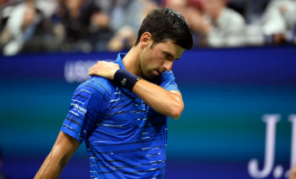Djokovic booed as shoulder injury ends his 2019 US Open run