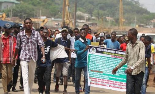 'Three killed' as studentsattack convoy of Fayemi's wife