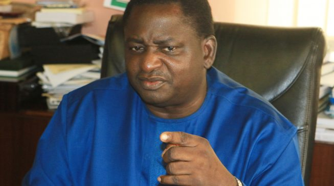 Aso Rock is on partial lockdown, says Femi Adesina