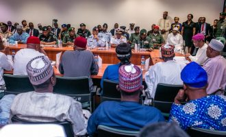Service chiefs meet with reps leadership after Gbaja's threat