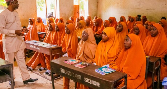 EXTRA: Gbaja turns secondary school teacher in Katsina