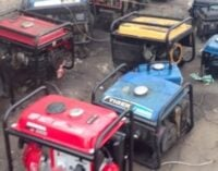 Report: Nigerians spend $12bn on generators every year
