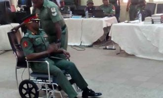 ICYMI: Drama at court martial trying army general over N400m 'theft'