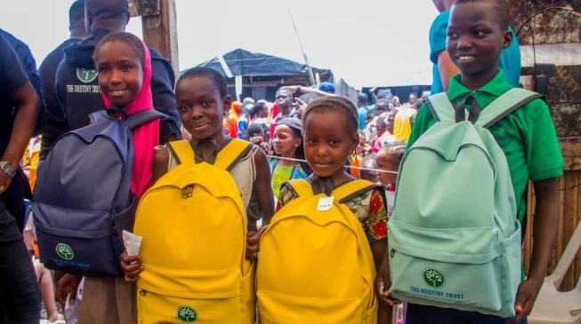 NGO assists homeless children in Lagos to return to school