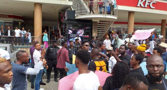 Shoprite halts operations in Ikeja as protesters storm Lekki, Surulere outlets
