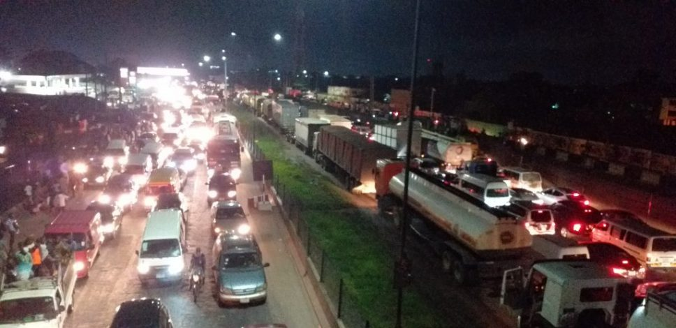The gridlock Lagosians won't forget in a hurry