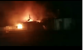 Angry mob sets MTN office on fire in Ibadan