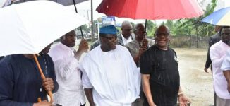 'I have nothing against Islam' — Wike leads Fayemi to site of 'demolished mosque'