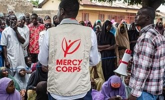 Army shuts down Mercy Corps' offices in north-east