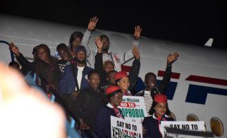 Second batch of Nigerian returnees depart South Africa