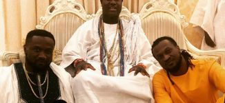 WATCH: Ooni of Ife vibes to Paul Okoye's new song