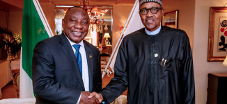 South Africans are killing Nigerians, Buhari is laughing with their president
