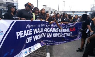 'Sex workers have right to life'… women protest killings in Rivers hotels