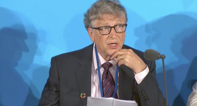 Bill Gates says pandemic conspiracies 'crazy and evil'