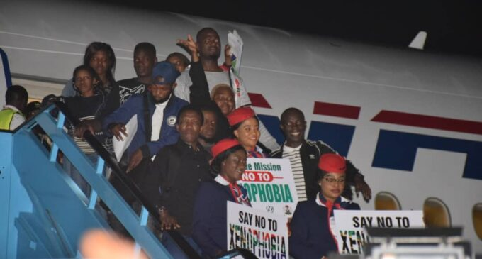 Nigerians who fled SA over xenophobic attacks arrive in Lagos