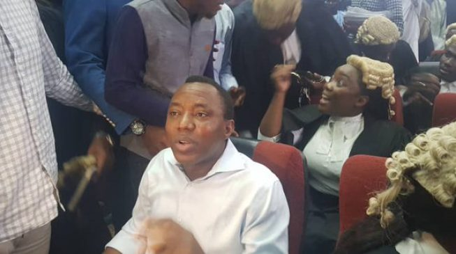 FG re-arraigns Sowore for 'treason'