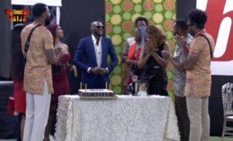 Tuface celebrates 44th birthday with BBNaija housemates