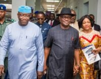 'He sees opposition as partners in progress' — Wike commends Fayemi
