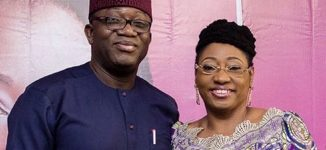 'My best friend at all times' — Fayemi eulogises wife on their 30th wedding anniversary
