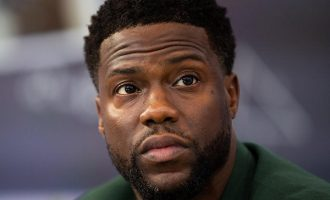 Kevin Hart sued $60m over sex tape – days after leaving hospital due to car crash