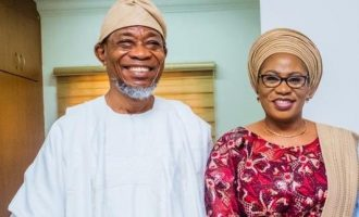 'You're a pillar of support to me' — Aregbesola eulogizes wife on her 59th birthday