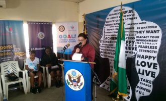 US launches girls' football programme to tackle sex trafficking in Nigeria