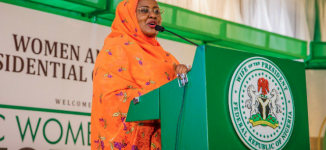 EXTRA: Buhari's wife gets two aides on 'social events'