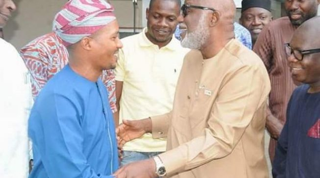 Akeredolu fires aide for 'calling his deputy's wife acting first lady'