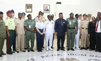 Army general says Akwa Ibom is a peaceful state