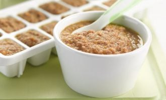 How to make beef puree for babies