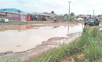 Lawyers protest over bad roads in Ogun