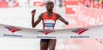 Like Kipchoge, Kosgei breaks Radcliff's 16-year-old women's marathon record
