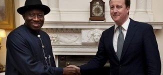 Between Goodluck Jonathan and David Cameron's 'For the Record'